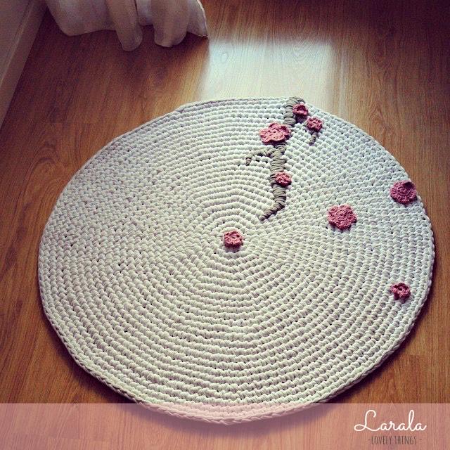 Larala empezando por el principio for Como hacer alfombras en bordado chino