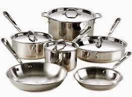 Aluminum and stainless steel cookware is not healthy - it is toxic!