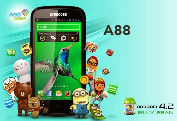 Smartphone Evercoss A88
