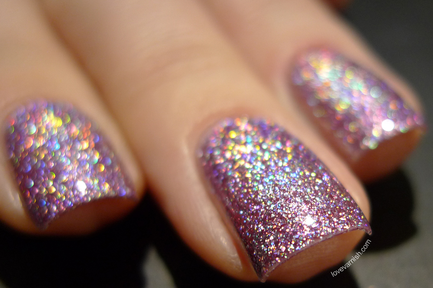 Dance Legend Wow Prism Slippery When Wet purple chunky holo