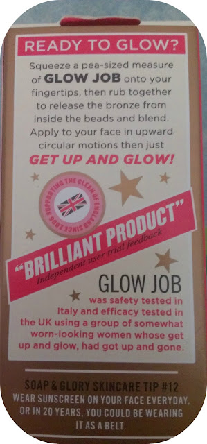 Soap and Glory Glow Job Daily Radiance Mositure Lotion