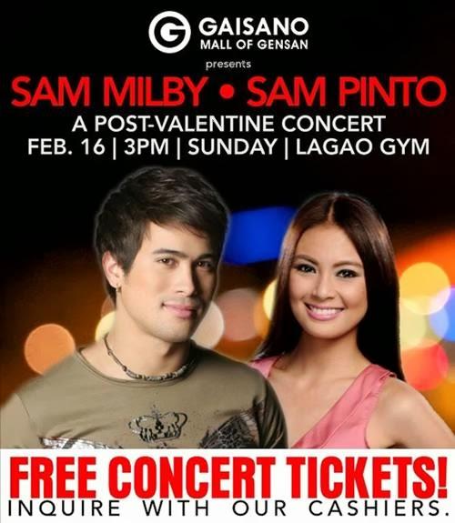 Sam Milby & Sam Pinto Live in Gensan