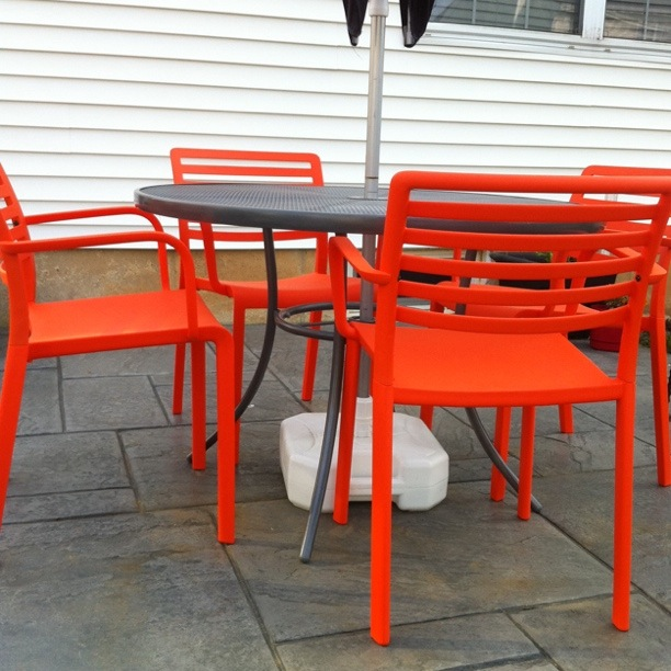 Orange Patio Chairs orange patio chairs photos - pixelmari