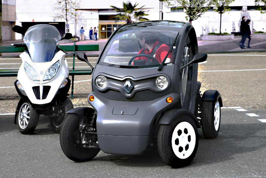 knowledge and rumors renault twizy. Black Bedroom Furniture Sets. Home Design Ideas