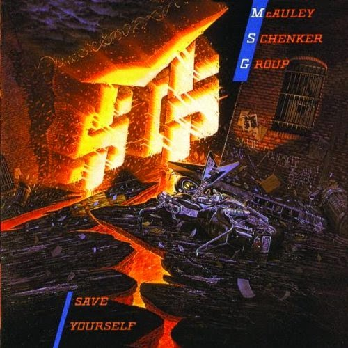 Portada de McAuley-Schenker Group-Save Yourself