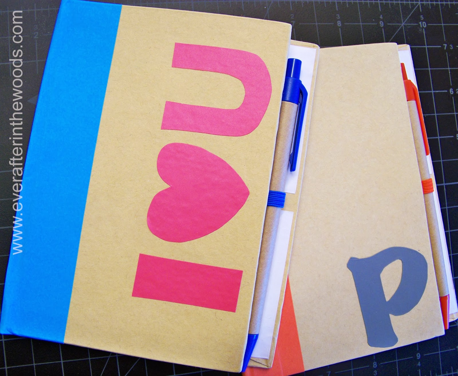 DIY Vinyl notebook