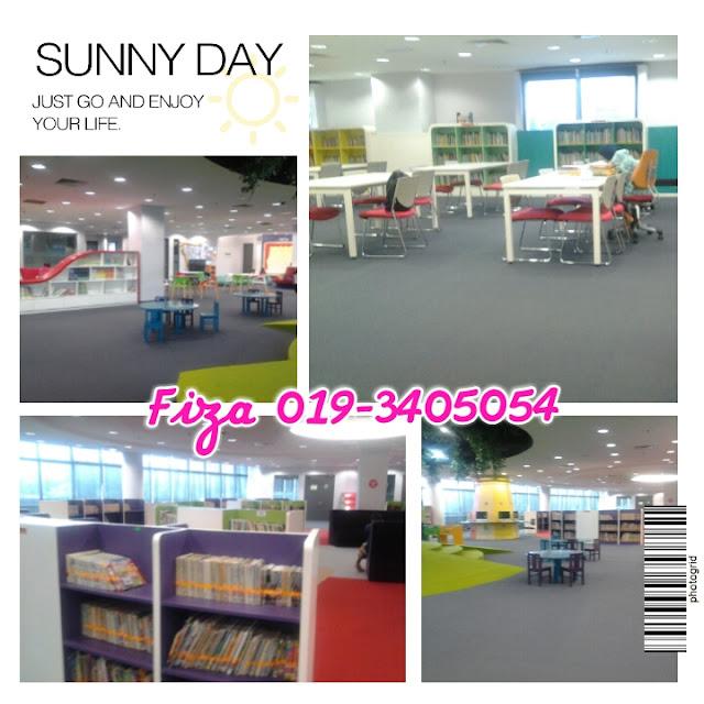 Lokasi Perpustakaan Awam Shah Alam