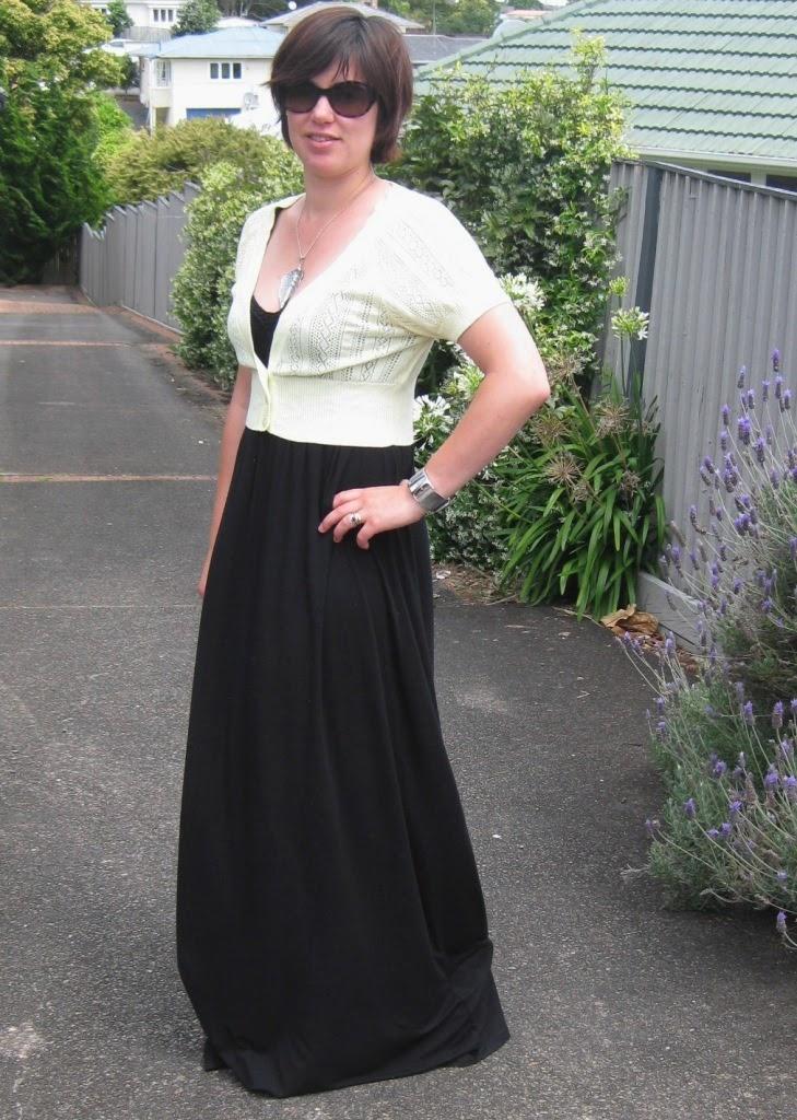 Take 5 - Black Maxi Dress | Drawasun