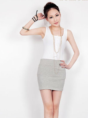 Model Rok Pensil Pendek Korea Casual