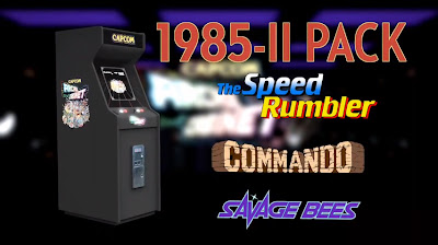 The 1985 Game Pack #2 is Available Now For Capcom Arcade Cabinet