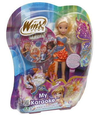 TOYS : JUGUETES - WINX CLUB  My Karaoke - Stella | Muñeca  Producto Oficial Serie TV | Giochi Preziosi | A partir de 3 años  Comprar en Amazon