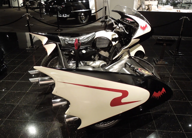 1966 Batman movie Batcycle
