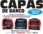 Kit Capa De Banco Type R - 90,00 R$