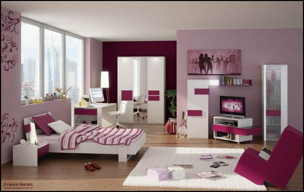 3D Teenage Bedroom Design
