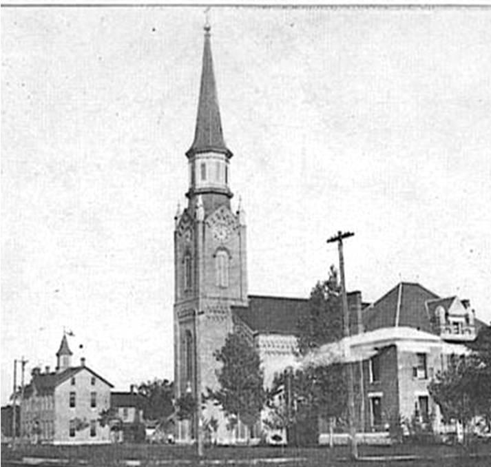 Catholic Architecture and History of Toledo, Ohio: SS Peter & Paul