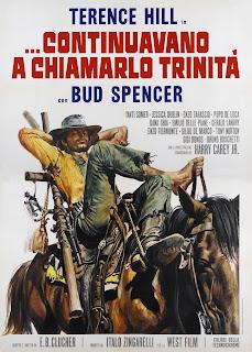 Italiensk poster for Trinity slår til igjen (1971)