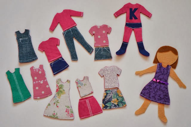 Dress Up Dolly Clothes
