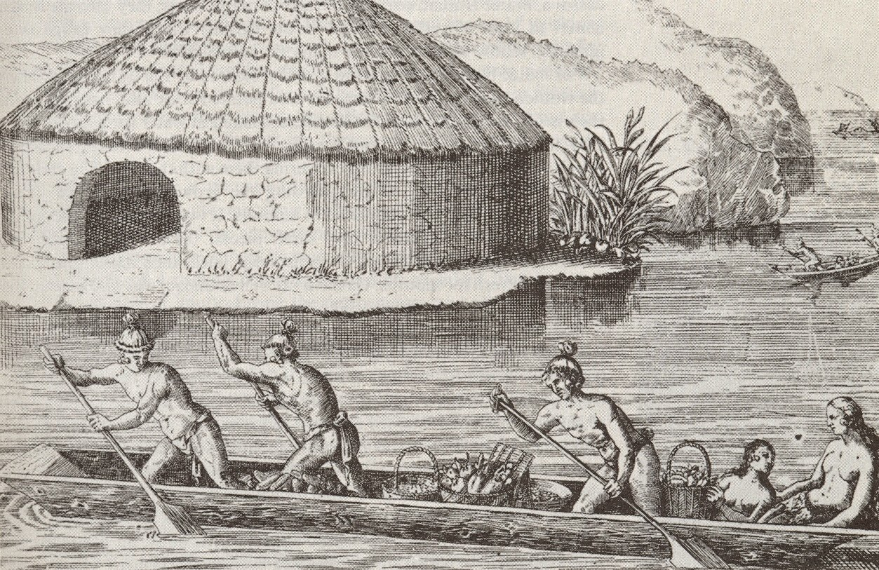 The Carib Pirogue Allowed The Natives To Project Their