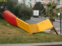 La Capsa de Mistos escultura de Claes Oldenburg. Autor: Carlos Albacete