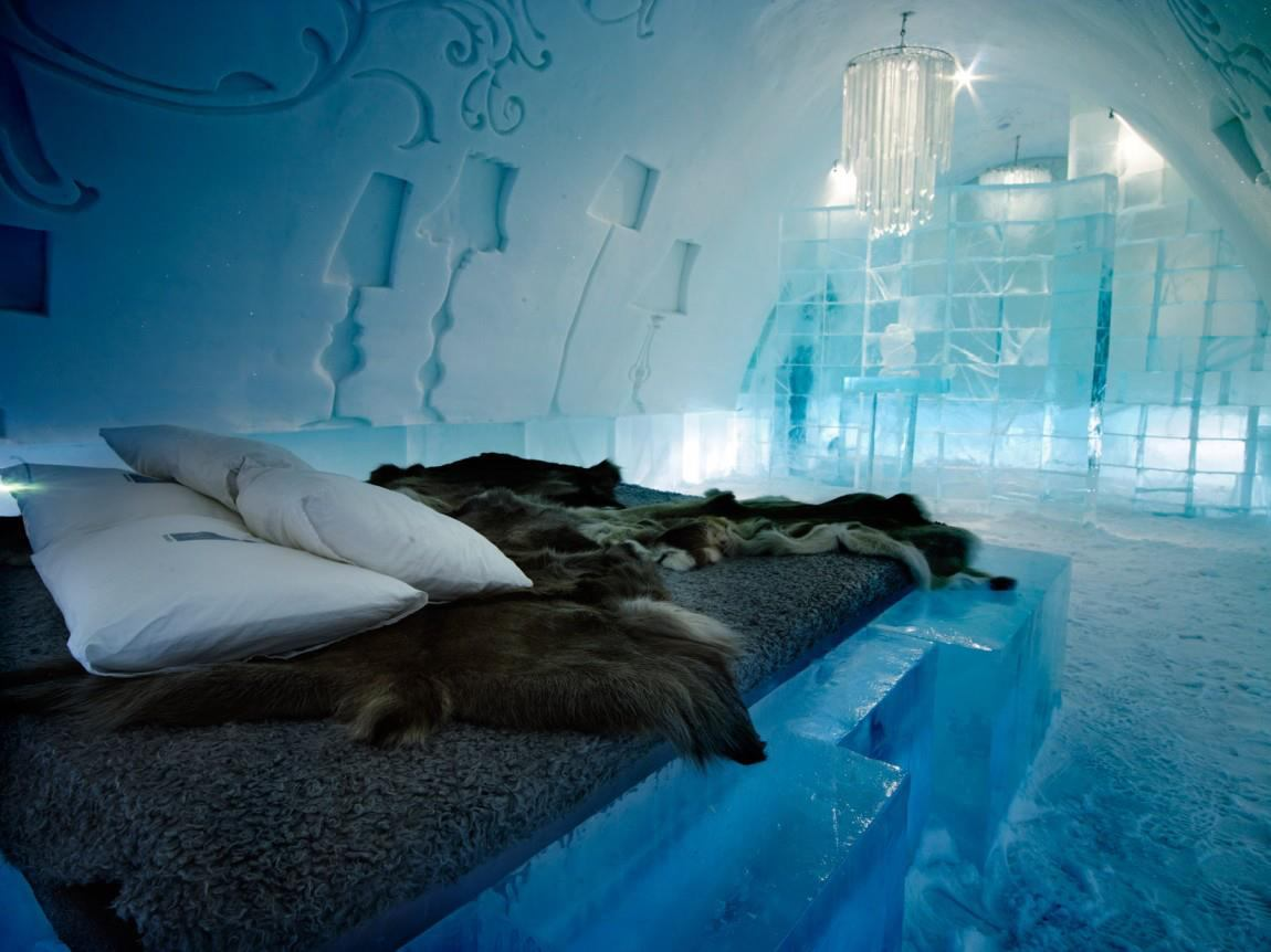 pic natural image sweden ice hotel. Black Bedroom Furniture Sets. Home Design Ideas