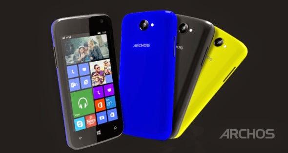 Archos 40 Cesium: Το πρώτο Windows Phone smartphone της εταιρείας με τιμή μόλις €89