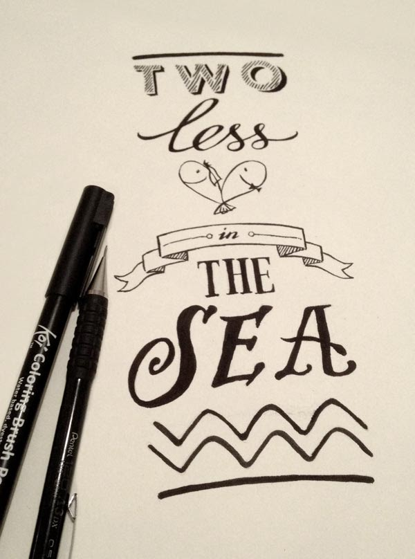 Vy 39 s creative journal two less fish in the sea for Two less fish in the sea