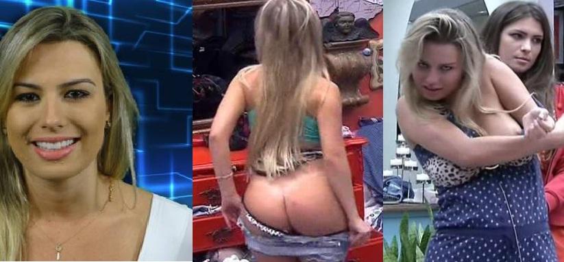 Brasileiras Fernanda Bbb Nua Pelada Flagra