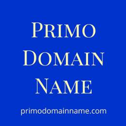 Primo Domain Name | primodomainname.com