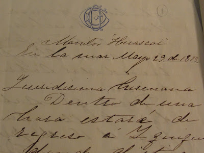 carta grau museo naval