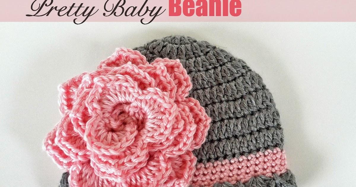 Crochet Rochelle Pretty Baby Beanie