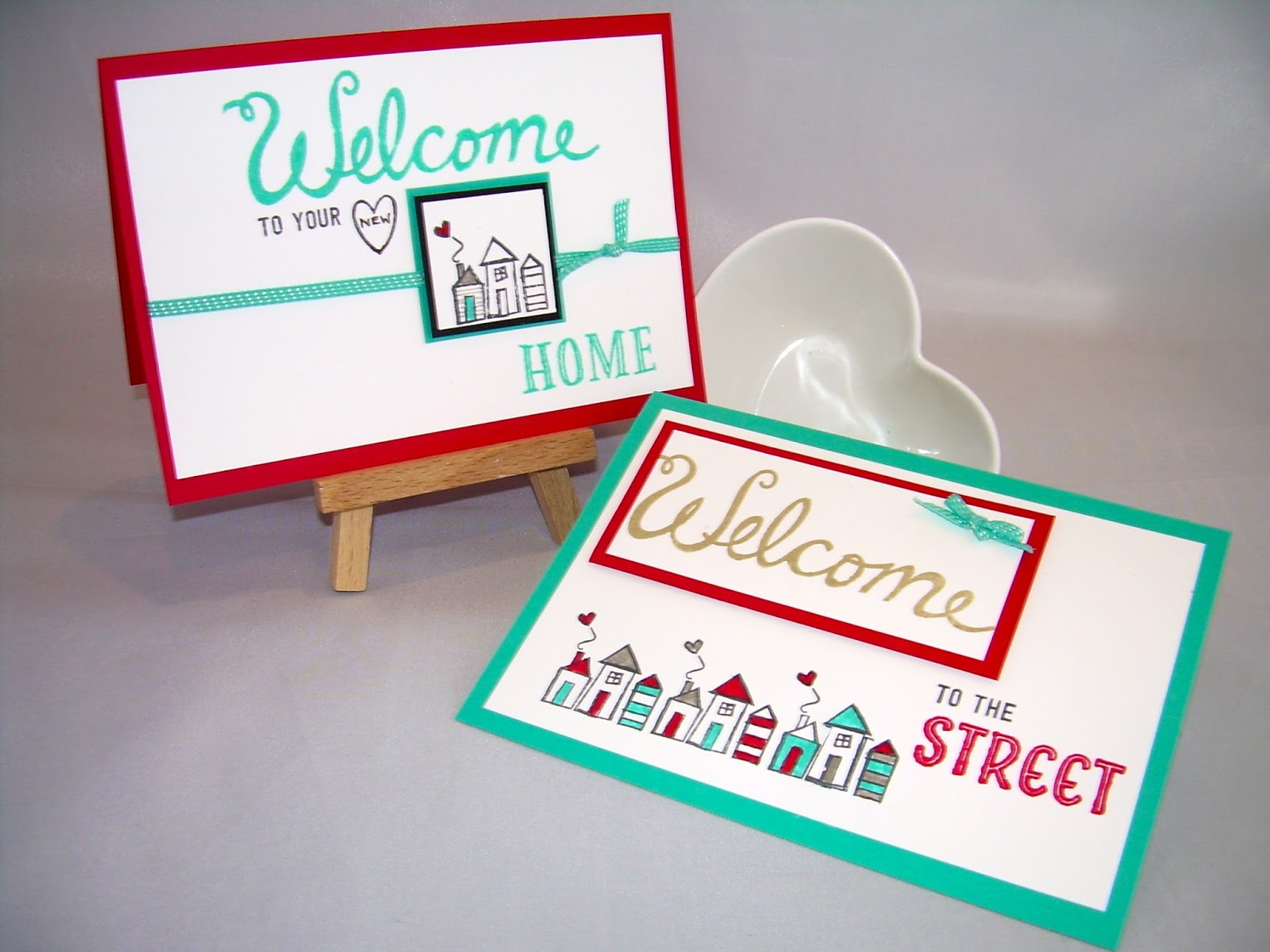 Elizabeths craft room you are welcome both the welcome words stamp set and the bermuda bay ribbon are from the new spring summer catalogue from stampin up which you can see on my online store m4hsunfo