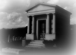Mausoleum in Riverview Cemetery in Huntingdon, PA