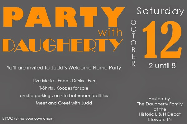 Judd Welcome Home Party