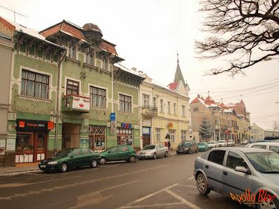 Cladiri vechi in Gheorgheni