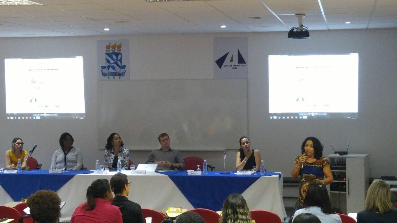 Evento UFBA – 12.05.2016 - Secretariado Executivo em Foco: Perspectivas de Atuação Profissional.