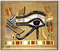 Illuminati Symbolism - The Eye Of Horus (Eye of Raw)
