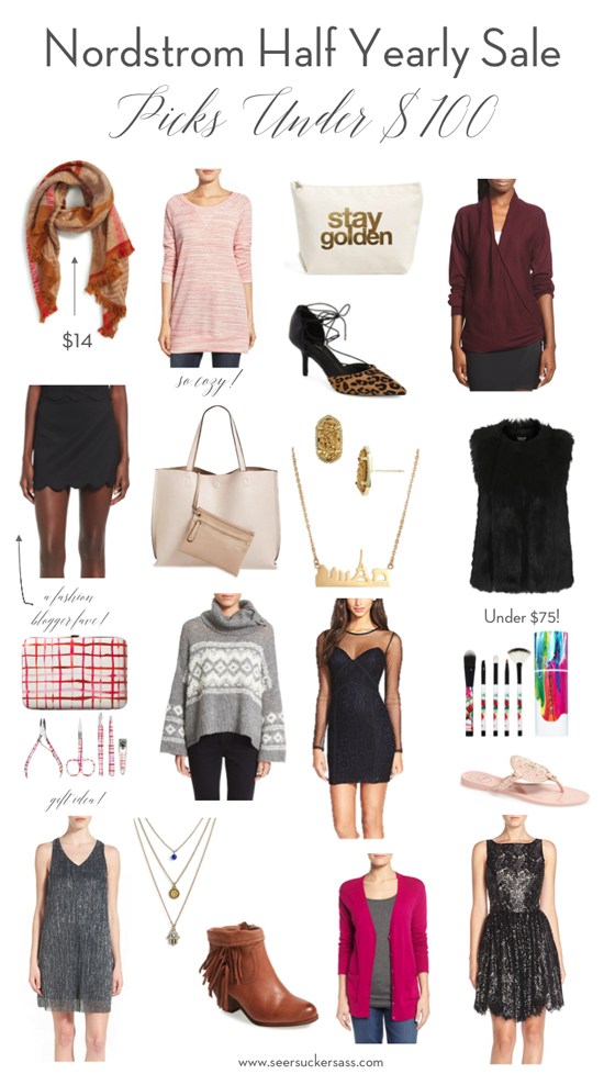 Nordstrom Half Yearly Sale Picks Under $100