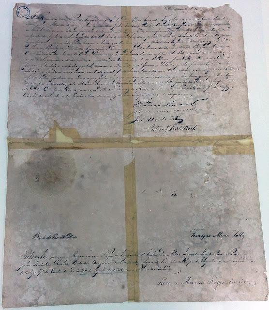 Certificado de admissão de Koeler a Segundo Tenente do Corpo de Engenheiros