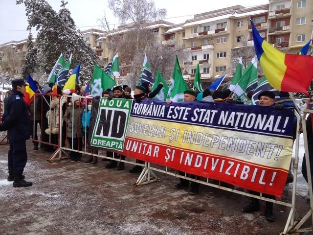 Sepsiszentgyörgy, román nemzeti ünnep, Noua Dreaptă, Románia, magyarság, Székelyföld,