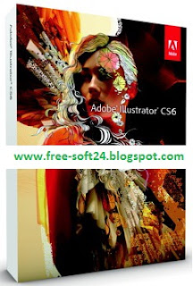 Adobe Illustrator CS6, Full Version+Serial+Crack+Patch+Keygen