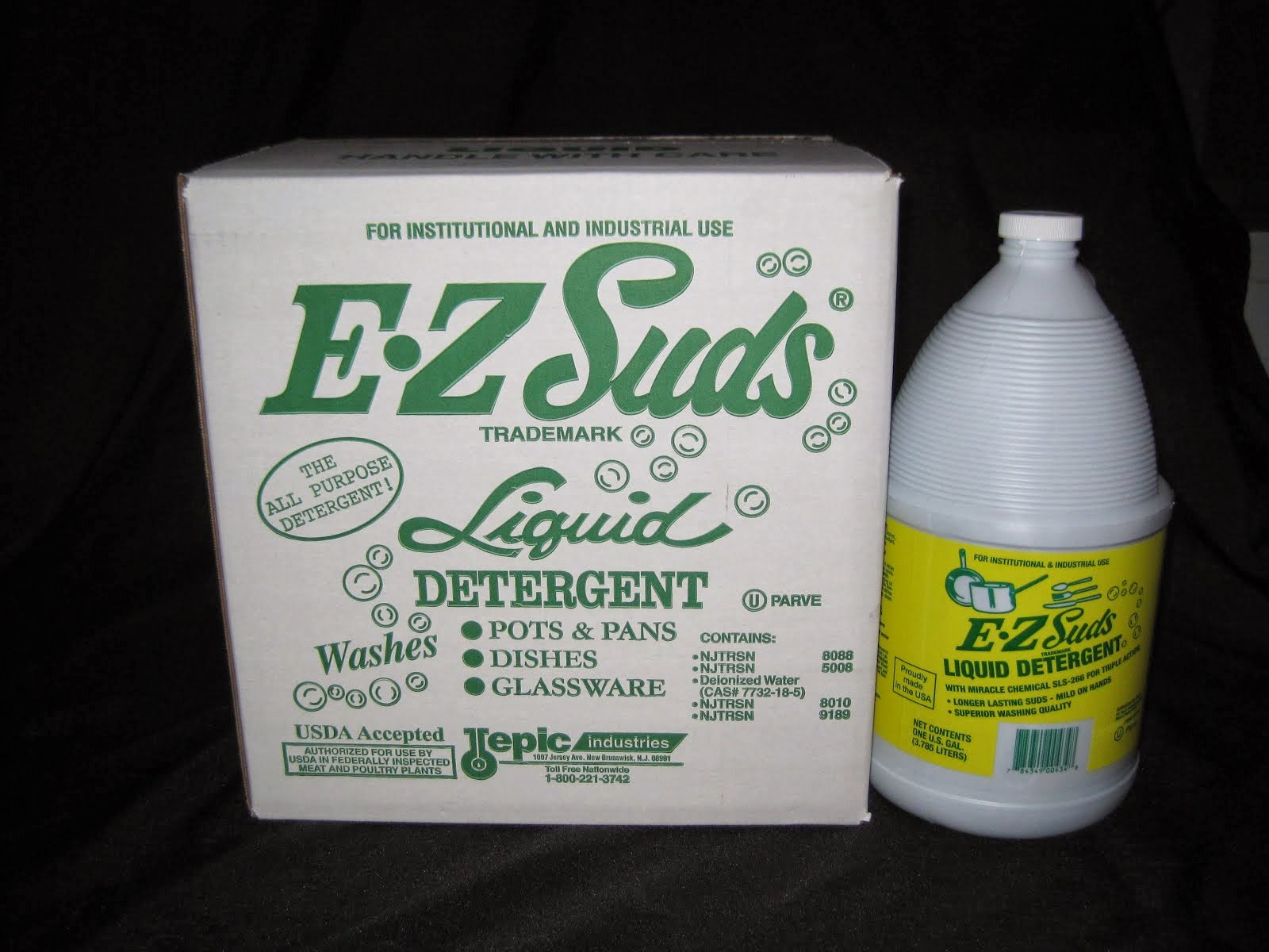 E-Z Suds Pot & pan Soap 4/1 gal - Item # 68250 & 68251 for the split