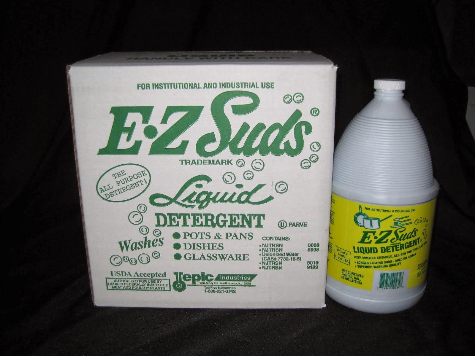 E-Z Suds Pot & pan Soap 4/1 gal - Item # 68250 & 68251 for the split