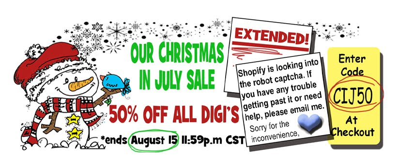 50% OFF JULY SALE EXTENDED!