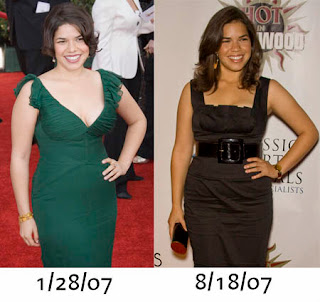 Before and After Weight Loss: America Ferrera Before and After Weight ...