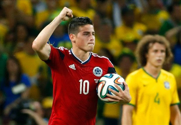 James Rodriguez wins World Cup 2014 Golden Boot