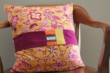 Modern Maples Pillow : Sew Lux Fabric : Blog: Modern Maple Leaf Pillow Tutorial