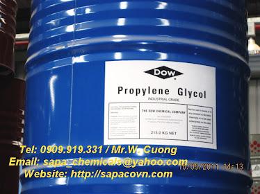 Propylene glycol, industrial grade
