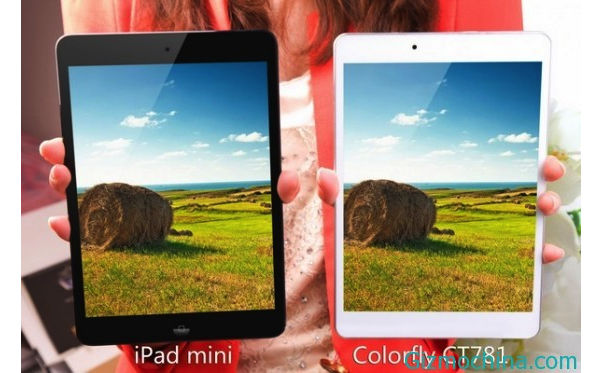 Colorfly CT781, Tablet Tiruan iPad Mini Lebih Tipis dan Murah