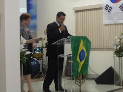 """""""Ministração Evangelista Ernani Lourenço na sede da Igreja profética Casa de Oração""""."""