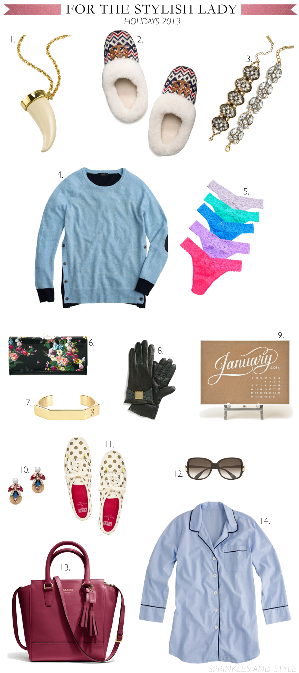 Sprinkles and Style || Holiday Gift Guide: For Her